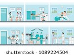 family planning with medical... | Shutterstock .eps vector #1089224504