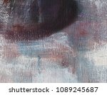 abstract art background. oil on ...   Shutterstock . vector #1089245687