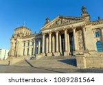the reichstag  bundestag ...   Shutterstock . vector #1089281564