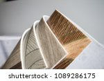 linoleum samples on white... | Shutterstock . vector #1089286175