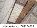 linoleum samples on white... | Shutterstock . vector #1089286229