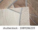 linoleum samples on white... | Shutterstock . vector #1089286235