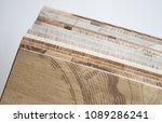 linoleum samples on white... | Shutterstock . vector #1089286241