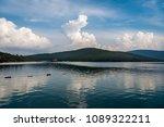 sea view at guvercinlik  bodrum ... | Shutterstock . vector #1089322211