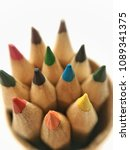close up of pencil on white... | Shutterstock . vector #1089341375