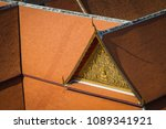 thai tradition building roof... | Shutterstock . vector #1089341921