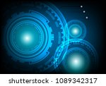 concept abstract background... | Shutterstock .eps vector #1089342317