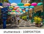 port louis  mauritius  ... | Shutterstock . vector #1089347534