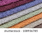 samples of carpets of different ... | Shutterstock . vector #108936785