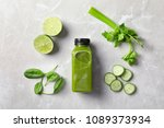 flat lay composition with... | Shutterstock . vector #1089373934