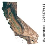 california state satellite... | Shutterstock . vector #1089379661