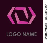 abstract business logo icon...   Shutterstock .eps vector #1089399554