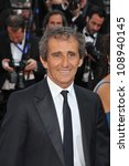 "Small photo of Alain Prost at the gala screening of ""Mud"" in competition at the 65th Festival de Cannes. May 26, 2012 Cannes, France Picture: Paul Smith / Featureflash"