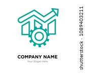 operational excellence company... | Shutterstock .eps vector #1089403211