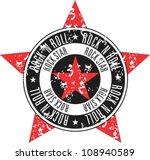 rock star stamp   Shutterstock .eps vector #108940589