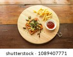insect food   cricket insect...   Shutterstock . vector #1089407771