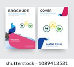 commodities brochure flyer... | Shutterstock .eps vector #1089413531