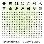 universal  general  technology  ... | Shutterstock .eps vector #1089416597