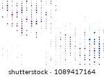 light blue  red vector  cover... | Shutterstock .eps vector #1089417164