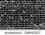 design element. ancient brick... | Shutterstock .eps vector #108942527