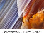 detail of a slice of natural... | Shutterstock . vector #1089436484