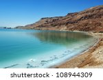 Landscape View Of The Dead Sea...
