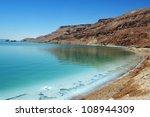 Landscape View Of The Dead Sea...