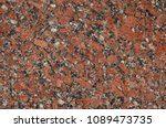 imperial red granite. red... | Shutterstock . vector #1089473735