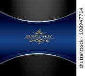 Vintage Royal Dark Blue And...