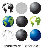 symbols of the planet from... | Shutterstock .eps vector #108948755