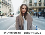 half length portrait of a...   Shutterstock . vector #1089491021