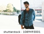 a young attractive travel... | Shutterstock . vector #1089493001
