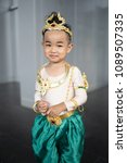 asian baby boy with thai... | Shutterstock . vector #1089507335