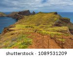 ponta de sao lourenco in... | Shutterstock . vector #1089531209
