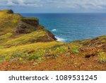 ponta de sao lourenco in... | Shutterstock . vector #1089531245