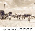 vintage blurred motion...   Shutterstock . vector #1089538595