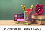 back to school concept with... | Shutterstock . vector #1089541079