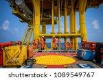 boat transfer passenger during...   Shutterstock . vector #1089549767