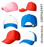 Baseball Cap. Collection Of...