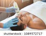 rejuvenating facial treatment.... | Shutterstock . vector #1089572717