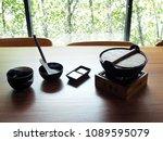 sukiyaki nabe ramen is a... | Shutterstock . vector #1089595079