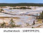yellowstone national park ...   Shutterstock . vector #1089599291