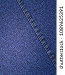 denim jeans background  3d...   Shutterstock . vector #1089625391