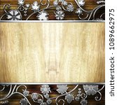 wooden texture background   Shutterstock . vector #1089662975