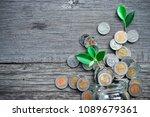 top view deposit photo view. | Shutterstock . vector #1089679361