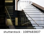 staircase  glass ceiling   wall ... | Shutterstock . vector #1089683837