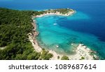 aerial drone bird's eye view... | Shutterstock . vector #1089687614