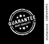guarantee best quality  stamp... | Shutterstock .eps vector #1089694991