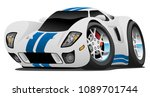 super car cartoon vector... | Shutterstock .eps vector #1089701744