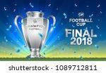 soccer 2018 championship... | Shutterstock .eps vector #1089712811